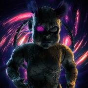 Halloween-Angry-Doll-running-on-the-vortex-space-Ultra-HD-VJ-Loop_005 VJ Loops Farm