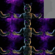 Halloween-Doll-Head-Beat-Attack-Video-Art-Vj-Loop-Ultra-HD VJ Loops Farm