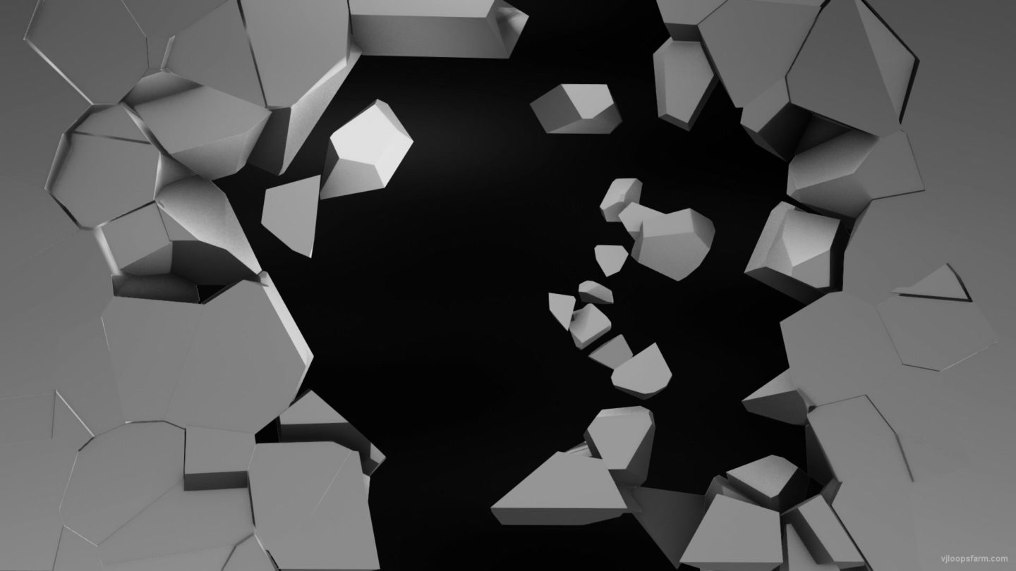 vj video background Fragmented-bricks-animation-Video-Mapping-Transition-Video-Loop-_003