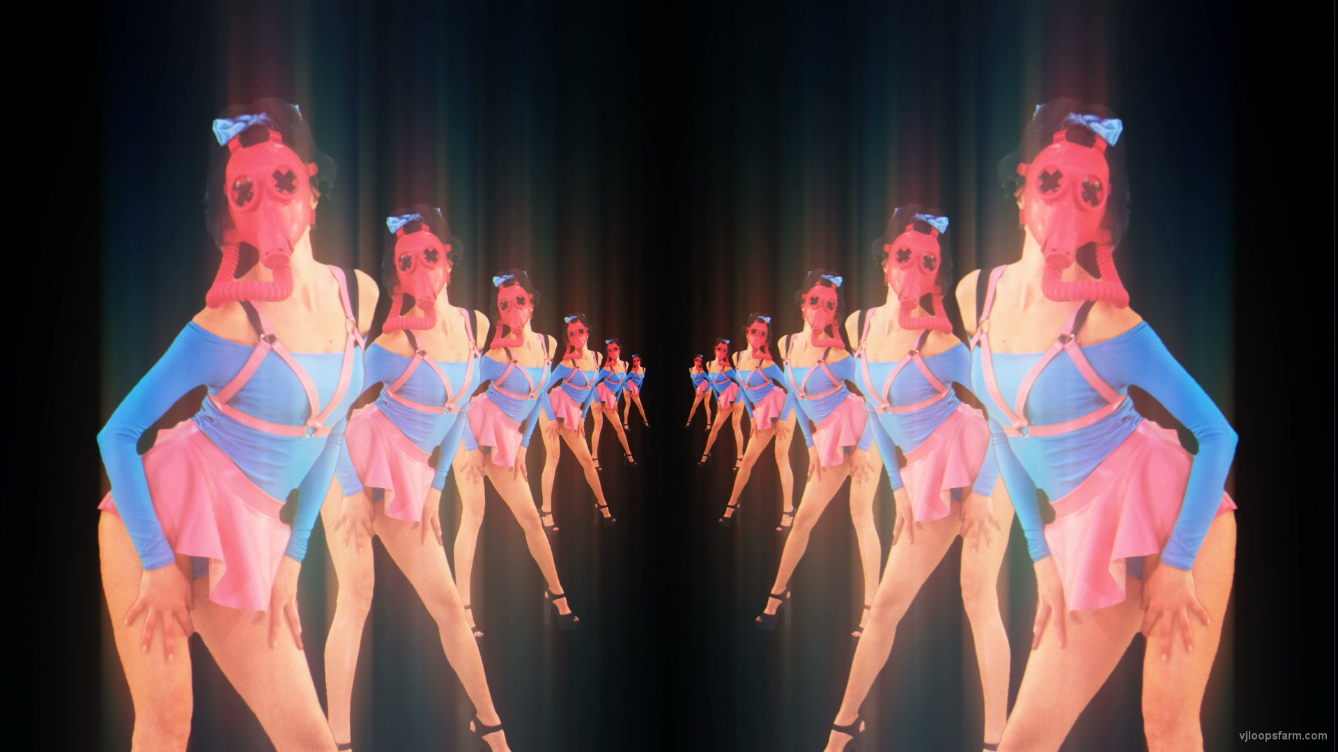 vj video background Dancing-glamour-chornobyl-girls-dancing-go-go-video-art-vj-loop-pixel-sorting_003
