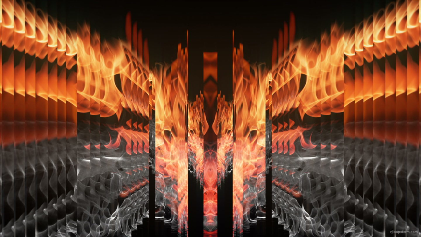 vj video background Eternal-Gate-Fire-King-Video-Art-VJ-Loop_003