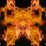 vj video background Eternal-flame-Memory-gate-lights-VA-Video-Art-VJ-Loop_003
