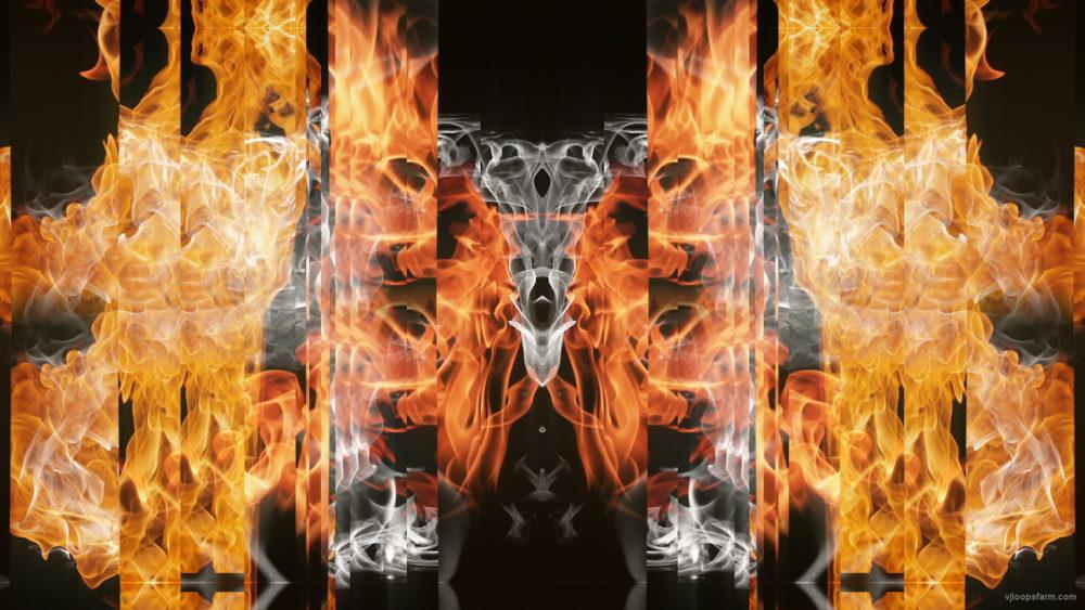 vj video background Eternal-flame-Stripe-line-gate-lights-VA-Video-Art-VJ-Loop_003