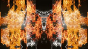 vj video background Eternal-flame-Stripe-line-gate-lights-VA-Video-Art-VJ-Loop_003