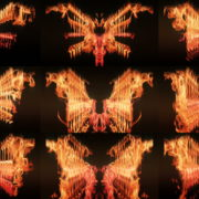 Eternal-flame-Wings-lights-VA-Video-Art-VJ-Loop VJ Loops Farm