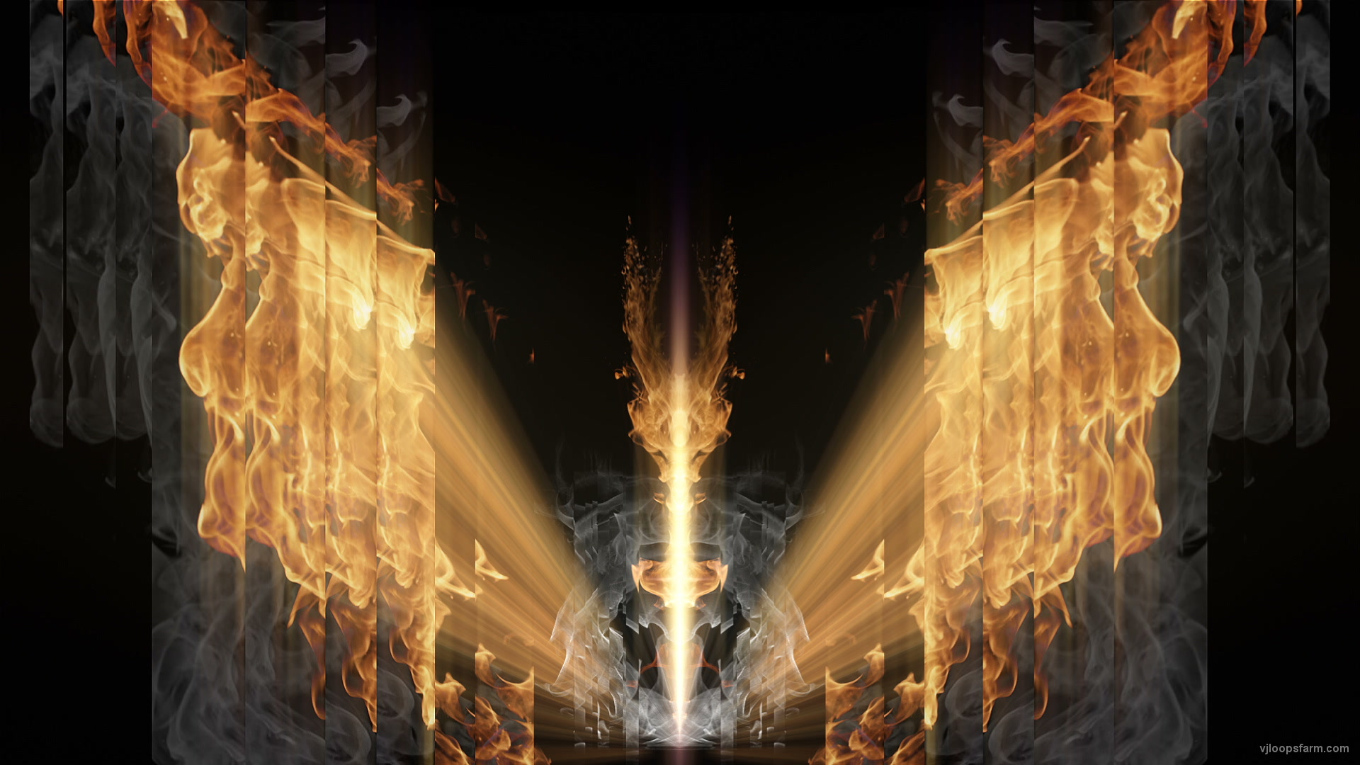 vj video background Fire-Rays-Flame-Stage-Visuals-Video-Art-Video-Footage-Vj-Loop_003