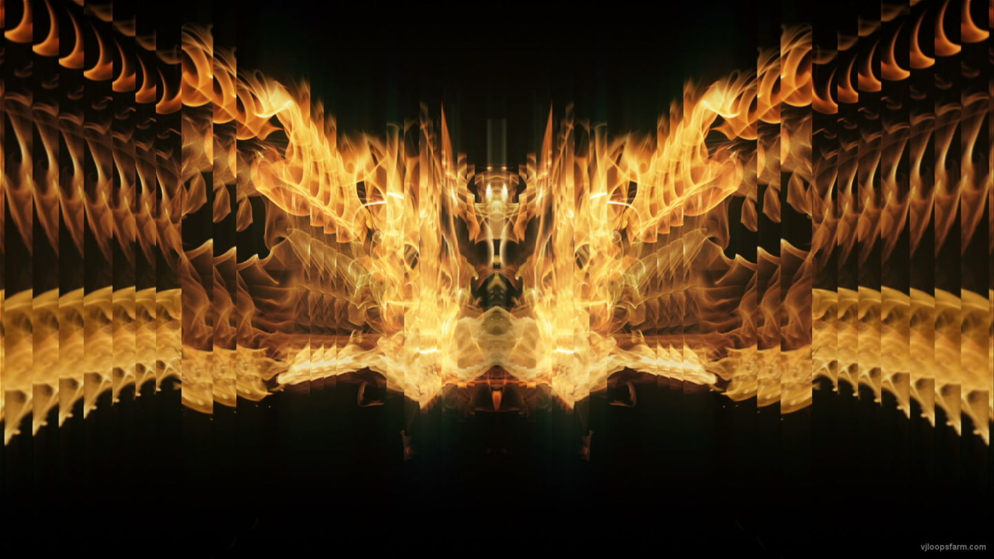 vj video background Golden-Phoenix-Fire-Flame-Video-Art-VJ-Loop_003