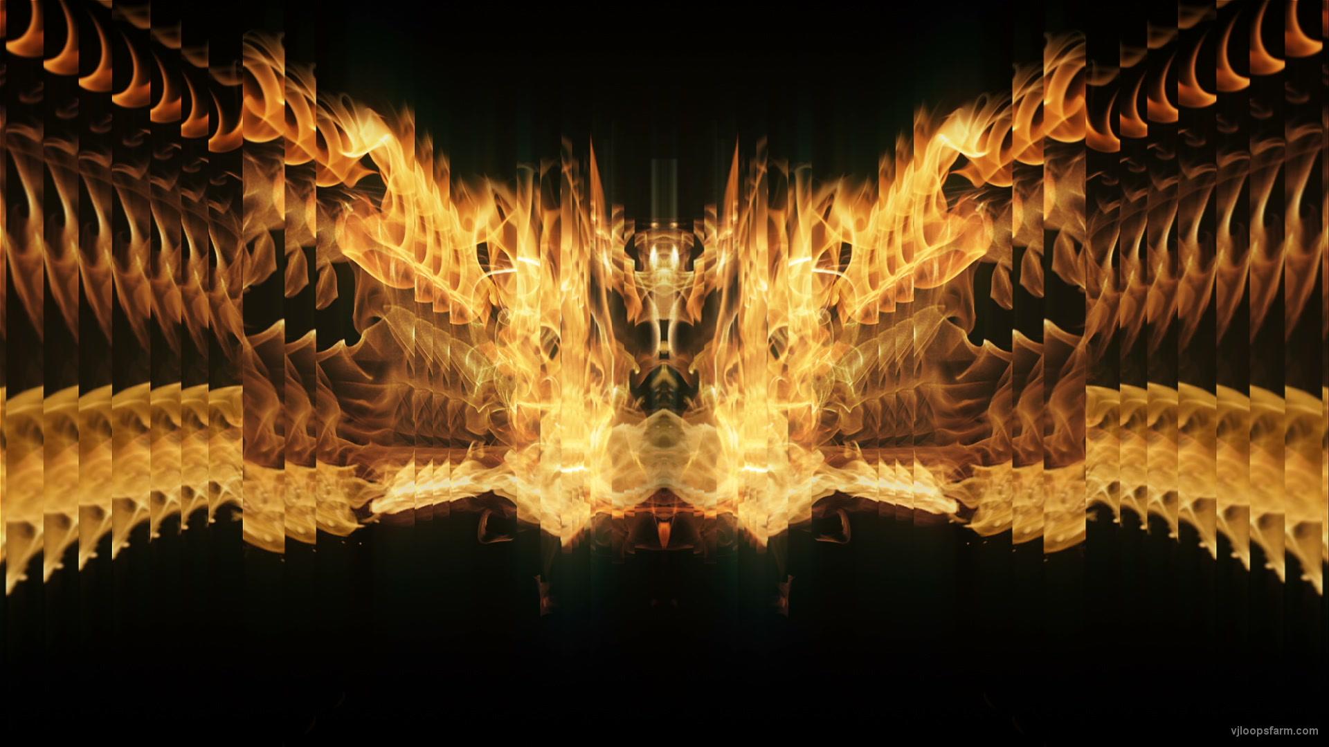 vj video background Golden-Phoenix-Fire-Flame-Video-Art-VJ-Loop_003