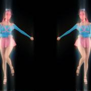 Side-Decor-Chornobyl-Glamour-Girls-marshing-with-glowing-effect-Video-art-vj-loop_008 VJ Loops Farm