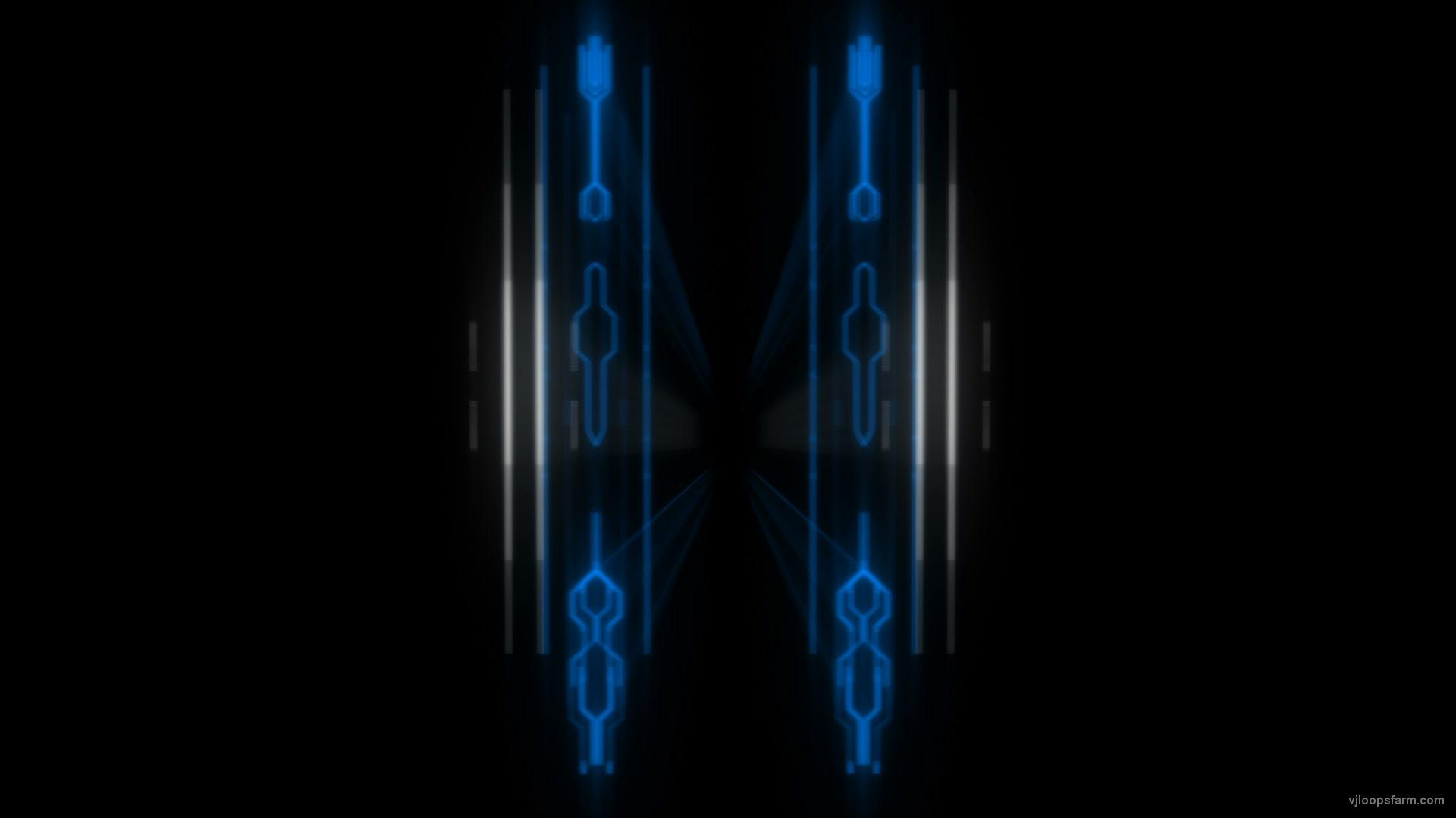 vj video background Blue-acid-techno-open-gate-Visuals-VJ-Loop_003