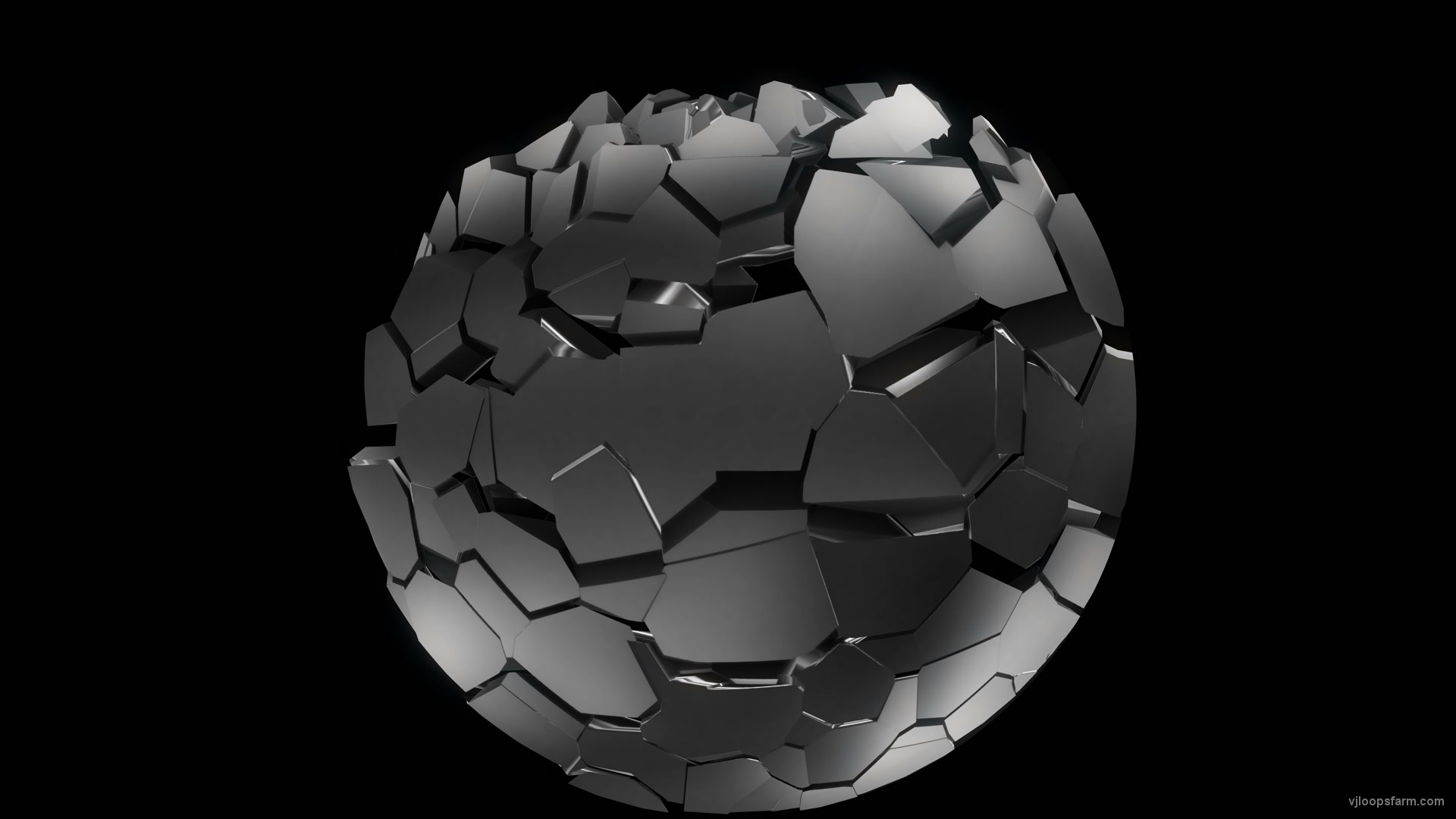 vj video background Chrome-Fulldome-4K-Video-Mapping-Loop-Transition-rock_003
