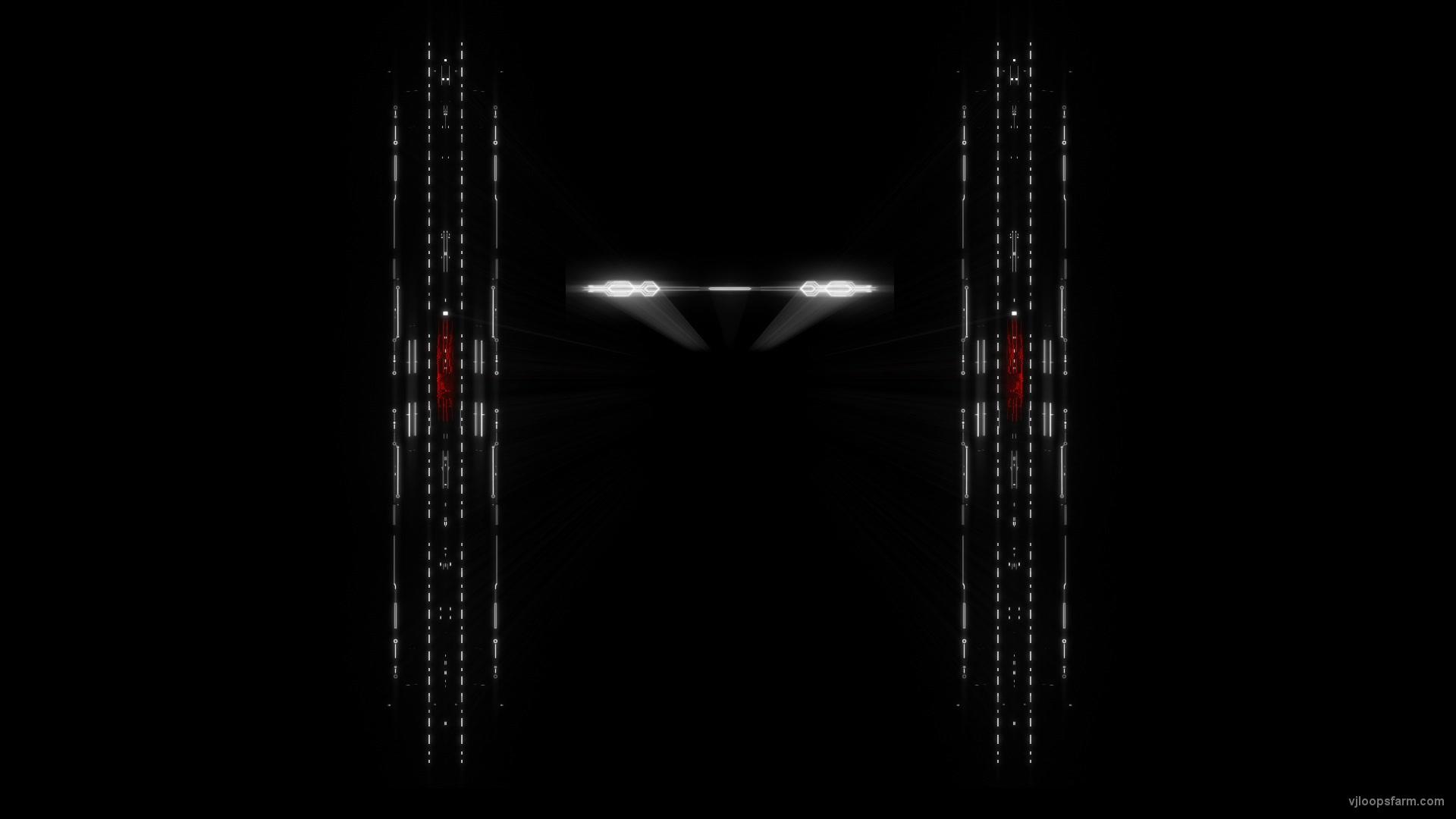 vj video background Red-Columns-rendering-scanner-lines-Visual-Video-Art-VJ-Loop_003