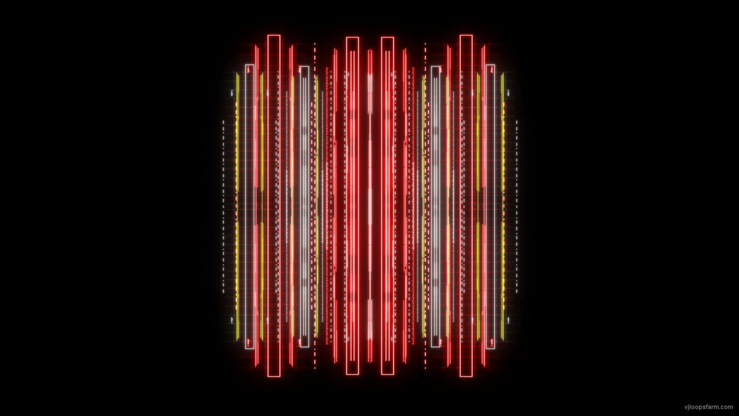 vj video background Red-Yellow-Glitch-Grid-Lines-Video-Art-VJ-Loop_003