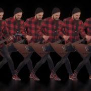 Rock-Guitarist-Team-playing-Video-Art-VJ-Loop_009 VJ Loops Farm