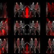 Rock-Red-Guitarist-Column-Techno-strobing-video-art-VJ-Loop VJ Loops Farm