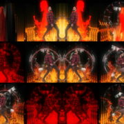 Side-Man-Red-Fire-Stage-Spitfire-VJ-Footage-VIdeo-Loop VJ Loops Farm
