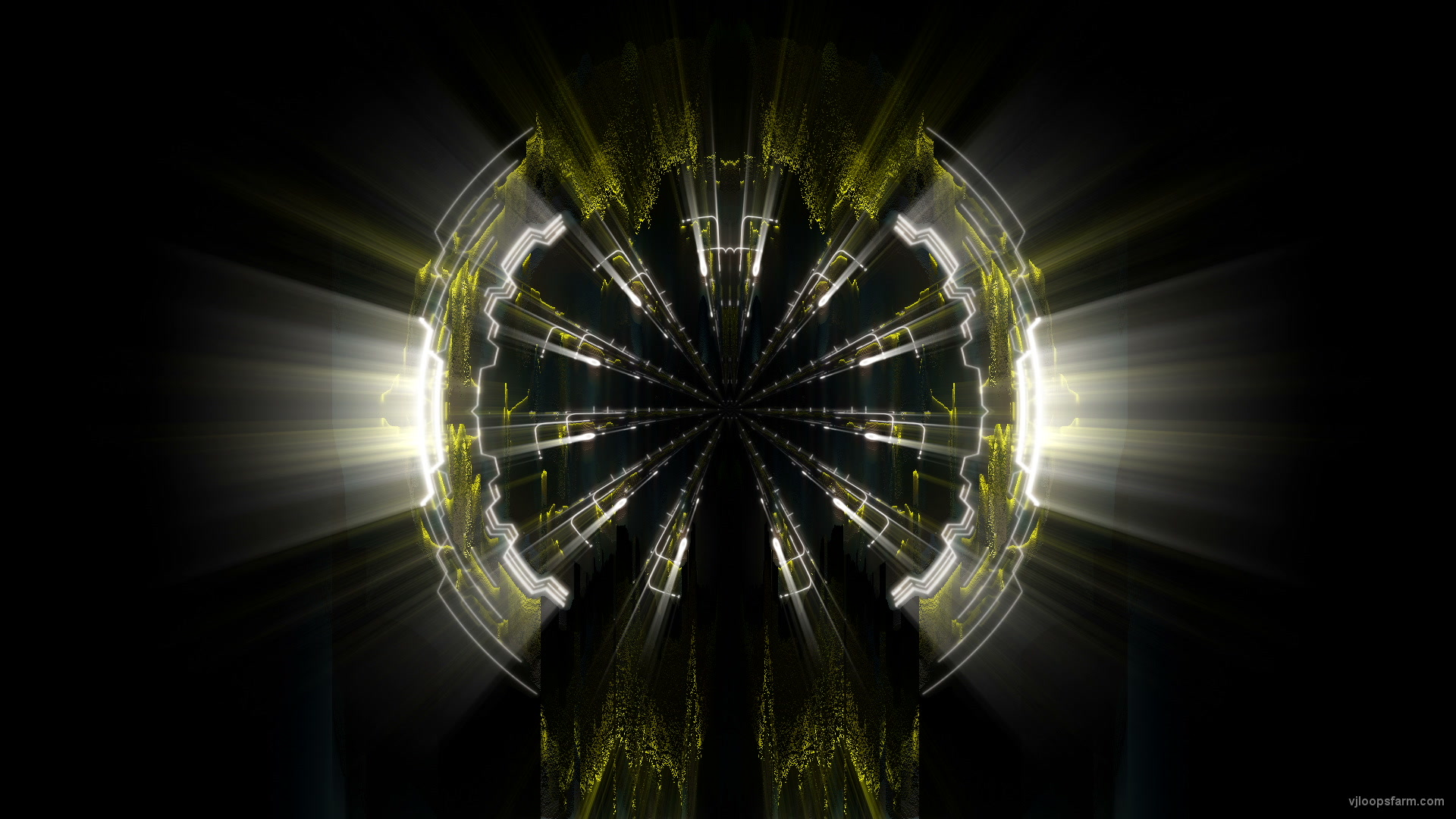 vj video background Sun-Gate-AI-Video-Art-Visuals-VJ-Loop_003