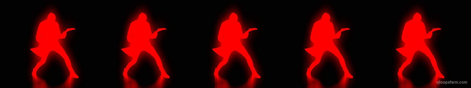 vj video background Ultra-Wide-Rock-Guitarist-strobing-pattern-VJ-Footage-Video-Loop_003