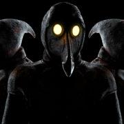 vj video background Beat-Heads-of-Venetian-Plague-Doctor-Halloween-VJ-Video-Loop_003