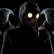 Beat-Heads-of-Venetian-Plague-Doctor-Halloween-VJ-Video-Loop_009 VJ Loops Farm
