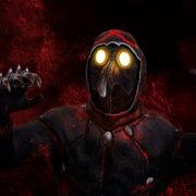 Head-attack-by-Plague-Venetian-Doctor-Red-Acid-Halloween-Video-UHD-VJ-Loop_007 VJ Loops Farm