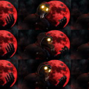 Idle-scarry-fingers-by-moon-Plague-Doctor-Video-Wallpaper-Postcard-VJ-Loop VJ Loops Farm
