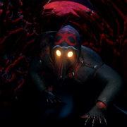 Slow-spider-crawl-horror-plague-doctor-in-mask-video-art-Ultra-HD-VJ-Loop_001 VJ Loops Farm