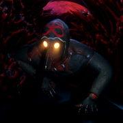 Slow-spider-crawl-horror-plague-doctor-in-mask-video-art-Ultra-HD-VJ-Loop_002 VJ Loops Farm