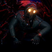 Slow-spider-crawl-horror-plague-doctor-in-mask-video-art-Ultra-HD-VJ-Loop_007 VJ Loops Farm
