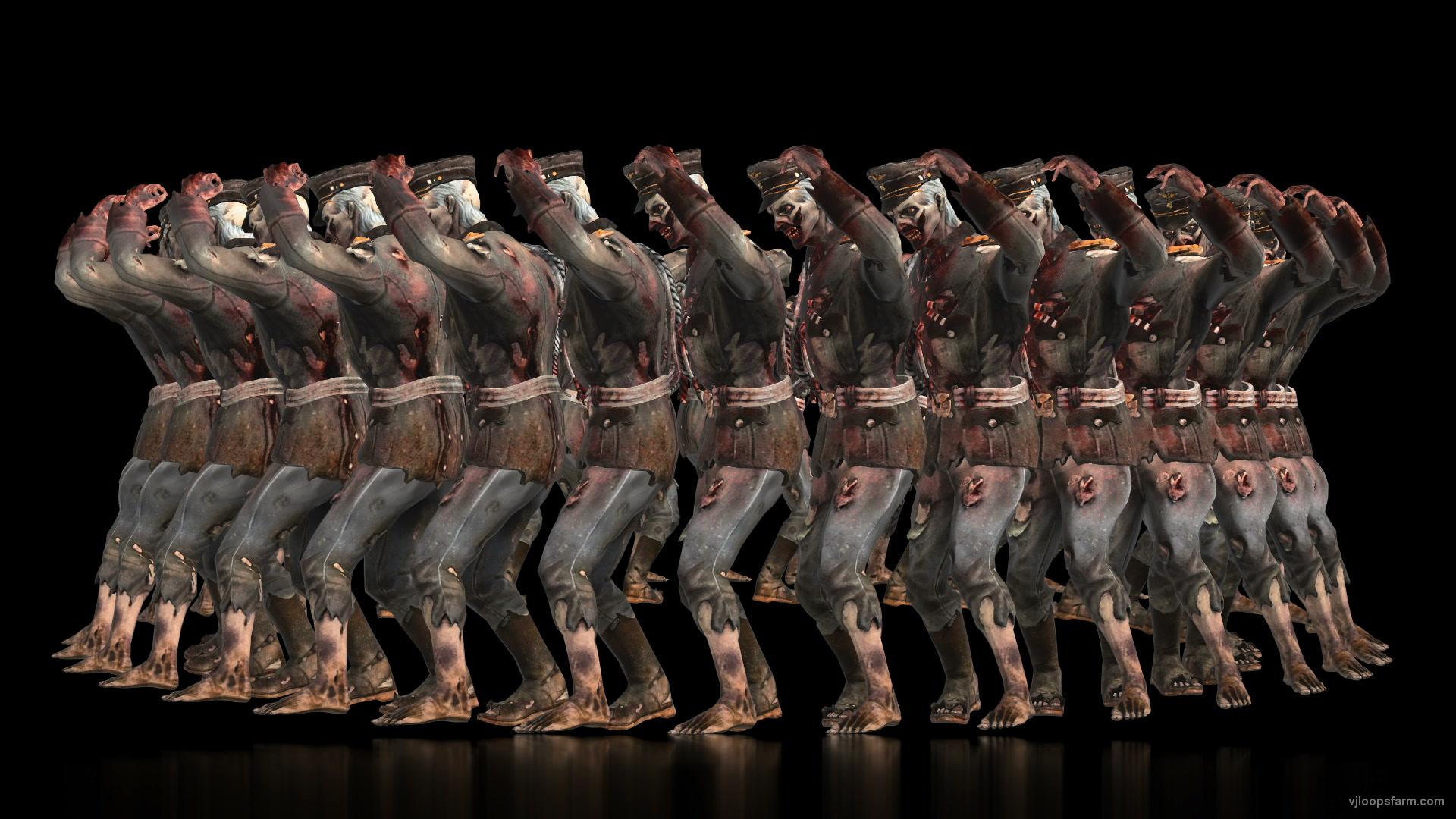 vj video background Circle-Judas-Dance-by-Halloween-Zombie-Army-General-Full-HD-VJ-Loop_003