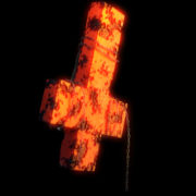 Plague-Doctor-on-Cross-symbol-on-fire-burn-with-alpha-channel-Ultra-HD-VJ-Loop_008 VJ Loops Farm