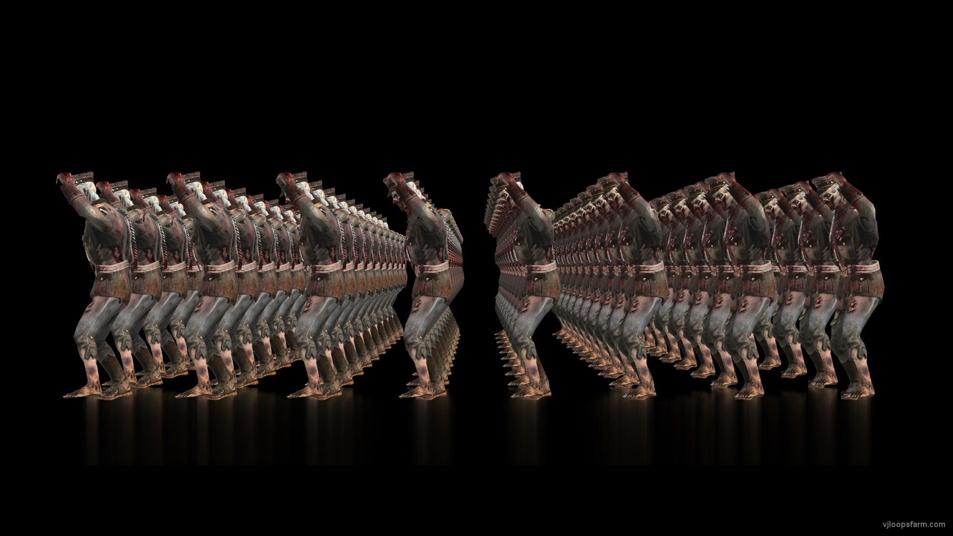 vj video background Zombie-Army-Dancing-Full-Frame-Visuals-Full-HD-VJ-Loop_003