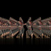 Zombie-Army-Dancing-Full-Frame-Visuals-Full-HD-VJ-Loop_008 VJ Loops Farm
