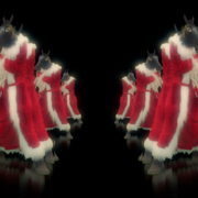 Strobing-Santa-Claus-Horse-New-Year-Boxing-Fight-Video-Art-Ultra-HD-VJ-Loop_006 VJ Loops Farm