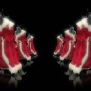 Strobing-Santa-Claus-Horse-New-Year-Boxing-Fight-Video-Art-Ultra-HD-VJ-Loop_009 VJ Loops Farm