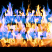 Fire-Pyramid-Blue-Yellow-Flame-Video-Art-VJ-Loop_001 VJ Loops Farm