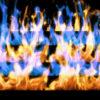 Fire-Pyramid-Blue-Yellow-Flame-Video-Art-VJ-Loop_002 VJ Loops Farm