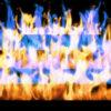 Fire-Pyramid-Blue-Yellow-Flame-Video-Art-VJ-Loop_004 VJ Loops Farm