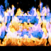 Fire-Pyramid-Blue-Yellow-Flame-Video-Art-VJ-Loop_005 VJ Loops Farm