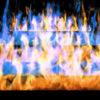 Fire-Pyramid-Blue-Yellow-Flame-Video-Art-VJ-Loop_006 VJ Loops Farm
