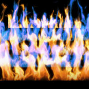 Fire-Pyramid-Blue-Yellow-Flame-Video-Art-VJ-Loop_008 VJ Loops Farm