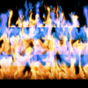 Fire-Pyramid-Blue-Yellow-Flame-Video-Art-VJ-Loop_009 VJ Loops Farm