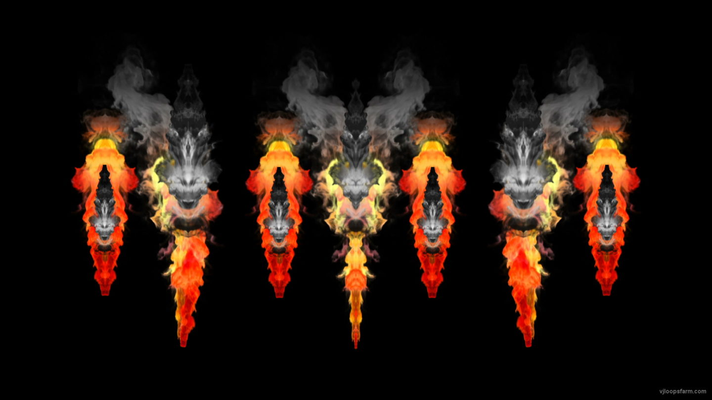 vj video background Flame-Fire-Needle-Pattern-Video-Art-VJ-Loop_003