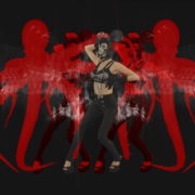 Octopus-Dancing-Woman-God-with-white-Fire-Video-Art-4K-VJ-Loop-1920_008 VJ Loops Farm