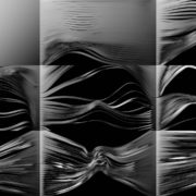 3D-Displace-Motion-Stripe-ribbons-isolated-on-black-Video-mapping-Loop VJ Loops Farm
