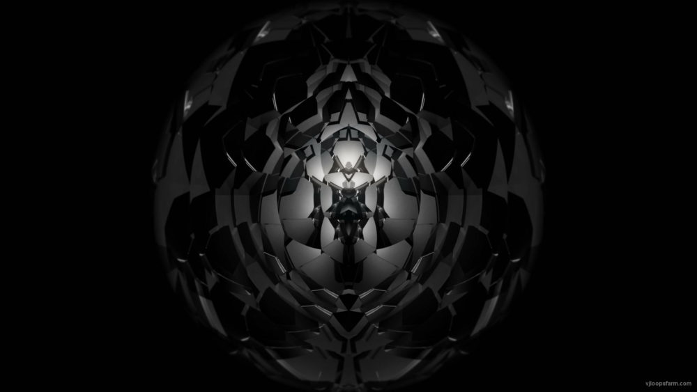 vj video background Black-Hole-Geometric-segments-3D-Fulldome-Video-Mapping-Loop_003