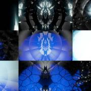 Blue-Geometric-world-gate-distortion-by-Black-Lord-Video-Art-Vj-Loop VJ Loops Farm