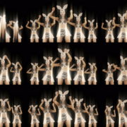 Bunny-Girls-Team-Power-Fist-Beat-Kombat-4K-Video-Art-VJ-Loop VJ Loops Farm