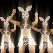 Bunny-Girls-Team-Power-Fist-Beat-Kombat-4K-Video-Art-VJ-Loop_002 VJ Loops Farm