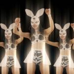 vj video background Bunny-Girls-Team-Power-Fist-Beat-Kombat-4K-Video-Art-VJ-Loop_003
